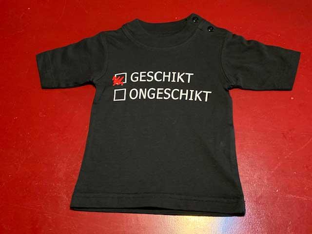Baby t-shirt Geschikt