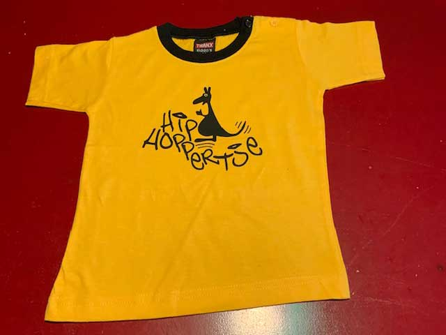 Baby t-shirt Hiphoppertje