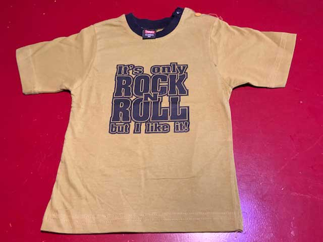 Baby t-shirt Its only rock n roll but I like it