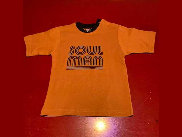 Baby t-shirt Soul Man