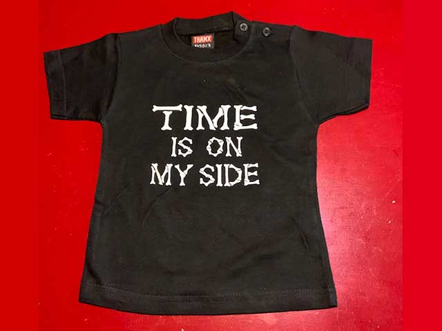 Baby t-shirt Time is on my side