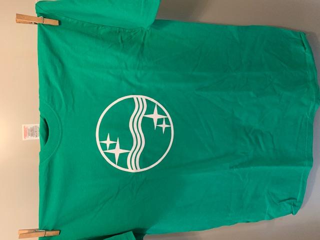Heren t-shirt Philips groen