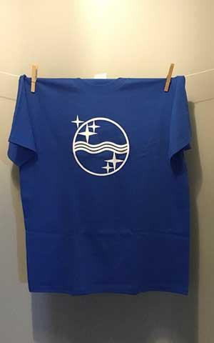Philips waves T-shirt Royal Blue